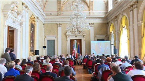 INNOVATION FORUM: SCALFAROTTO, FVG È CENTRO DELL'EUROPA